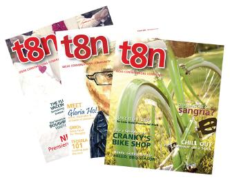 T8N magazine covers