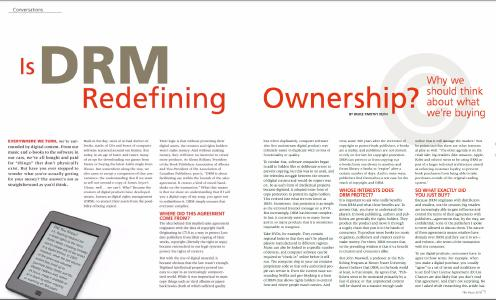Feature: DRM and Ownership